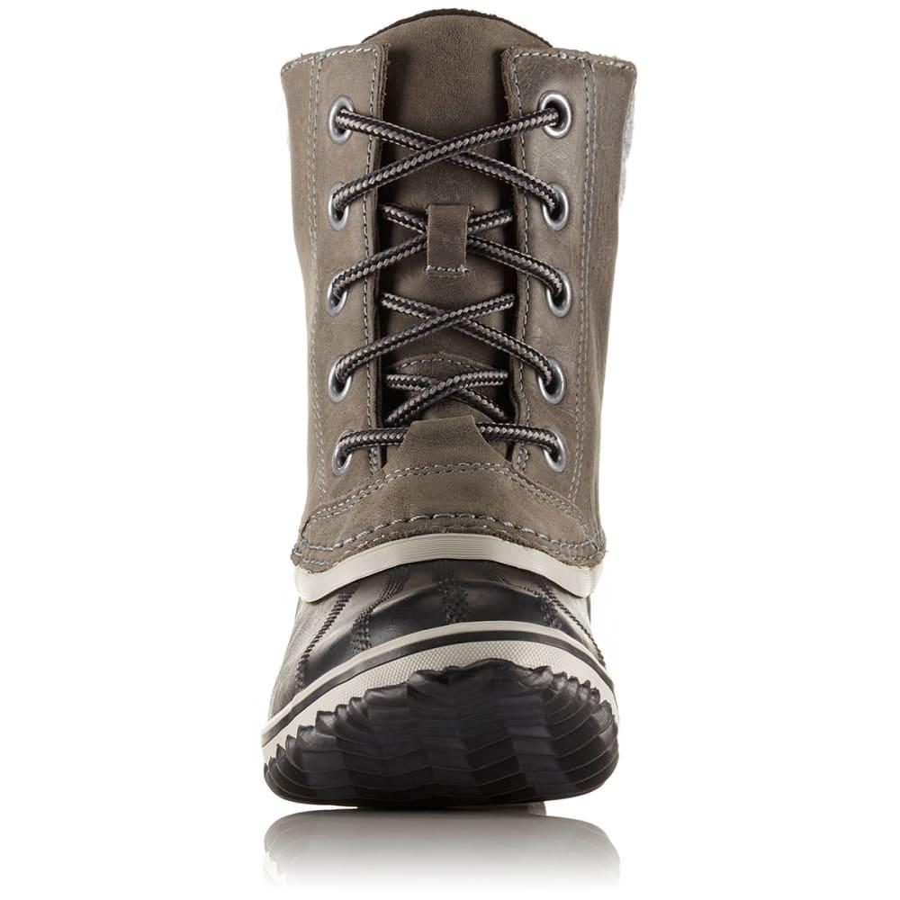 SOREL Women's Slimpack II Lace Boots, Elk - QUARRY -052