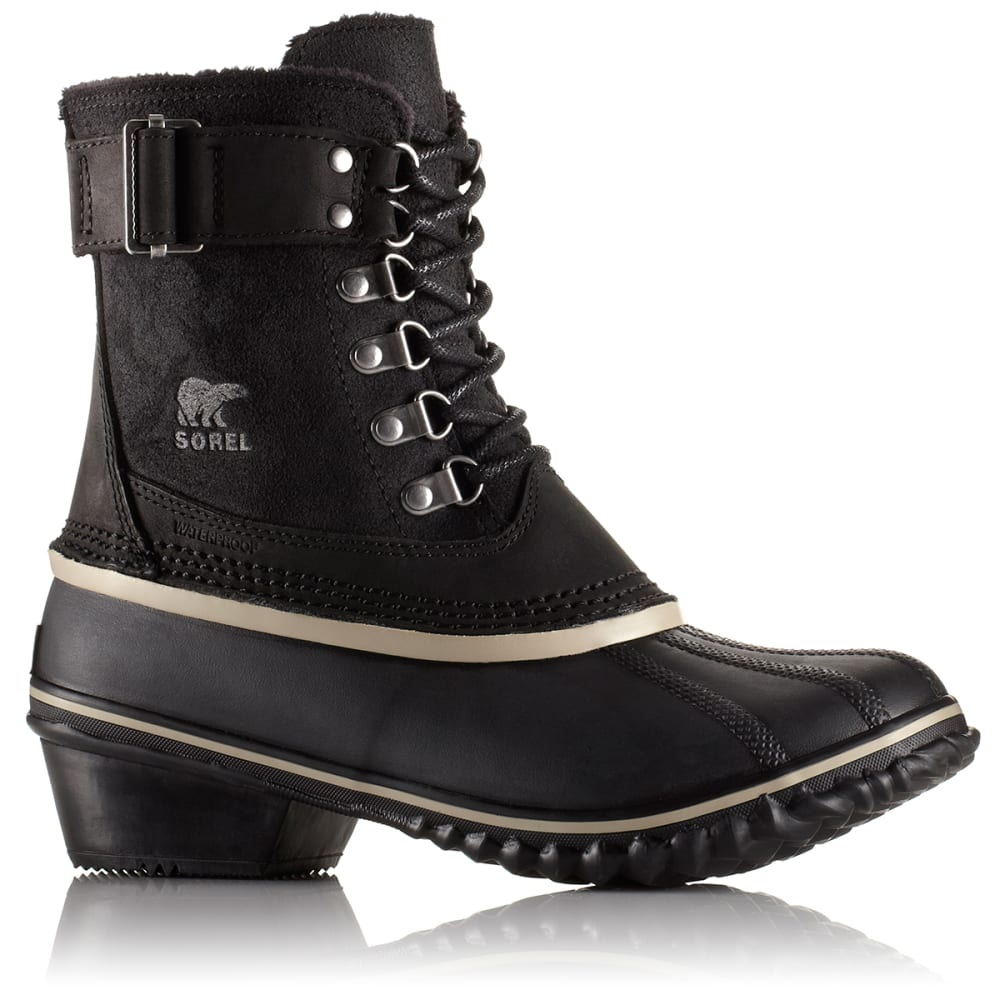 SOREL Women's Winter Fancy Lace II Boot, Black