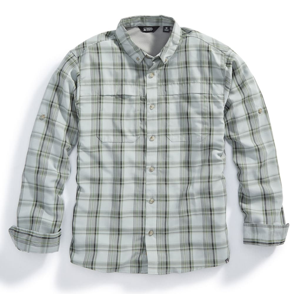 EMS® Men's Journey Plaid Long-Sleeve Shirt - HIGH RISE/NEUTRAL