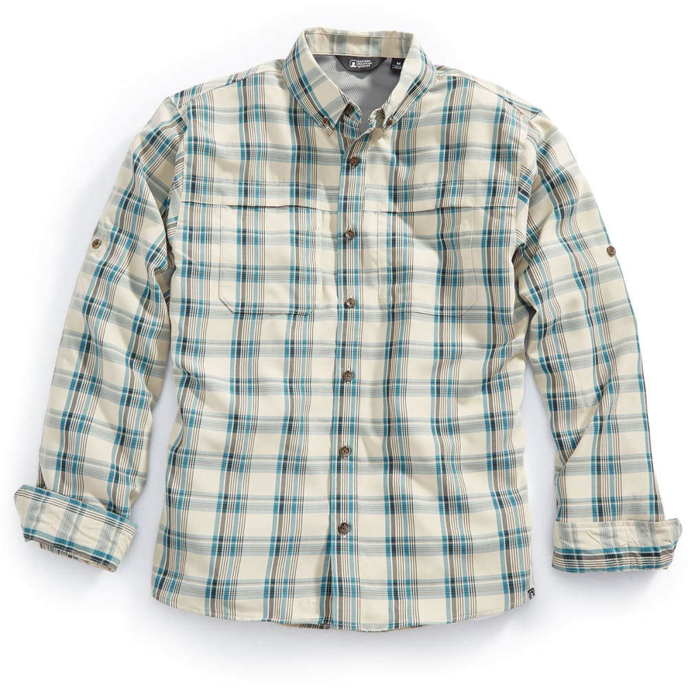 EMS® Men's Journey Plaid Long-Sleeve Shirt - BALSAM