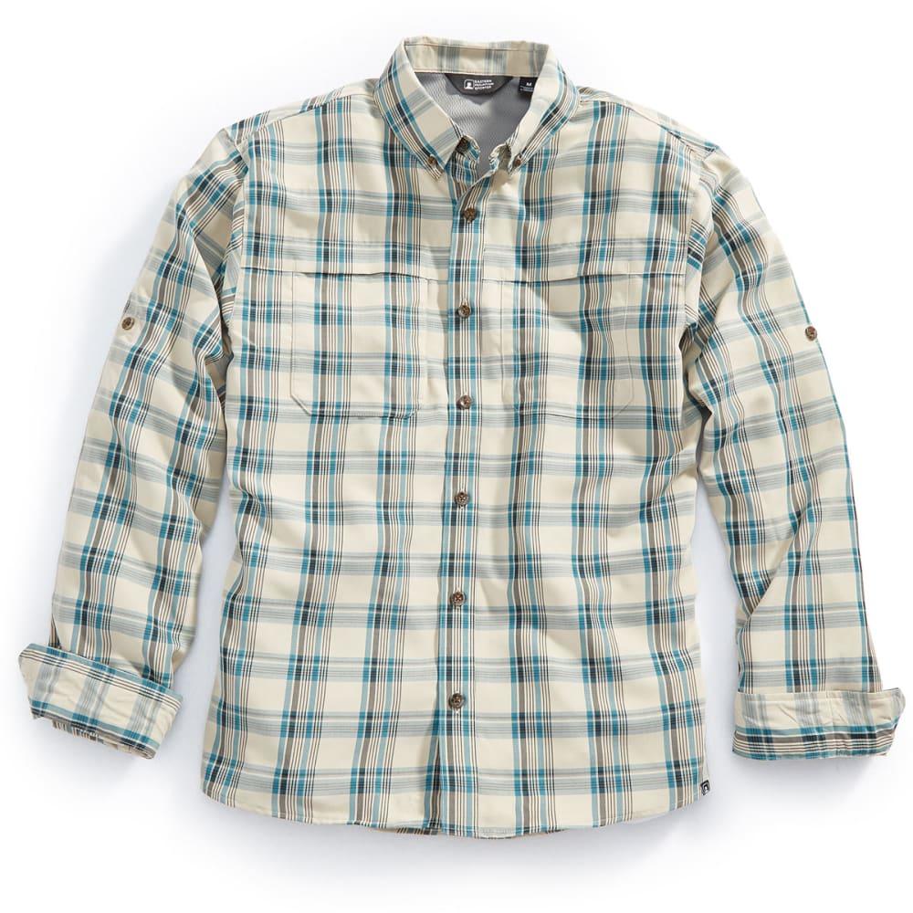 EMS® Men's Journey Plaid Long-Sleeve Shirt - BALSAM