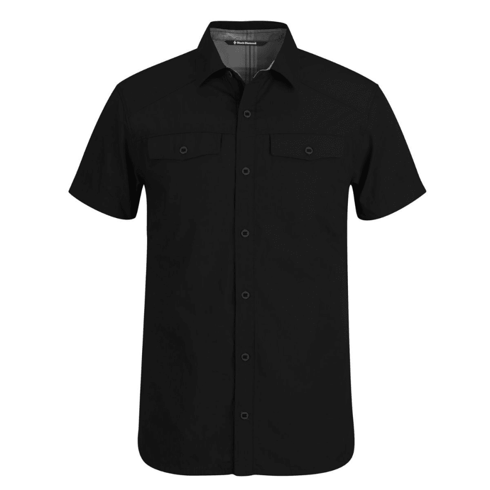 BLACK DIAMOND Men's Short-Sleeve Technician Shirt - BLACK