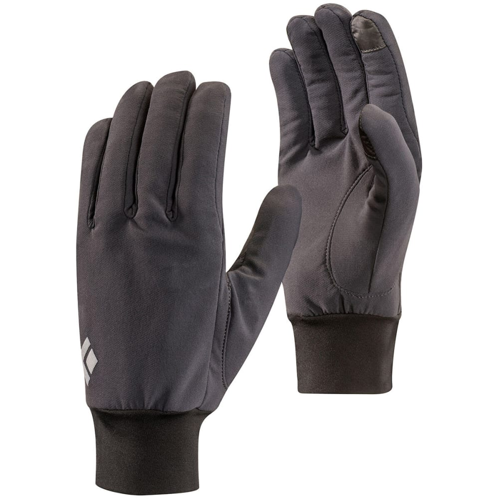 BLACK DIAMOND Men's Lightweight Softshell Glove - BLACK