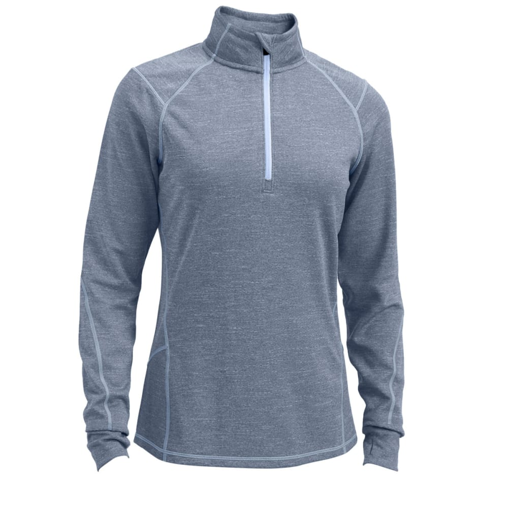 EMS® Women's Techwick® Dual Thermo  1/4 Zip - PEWTER