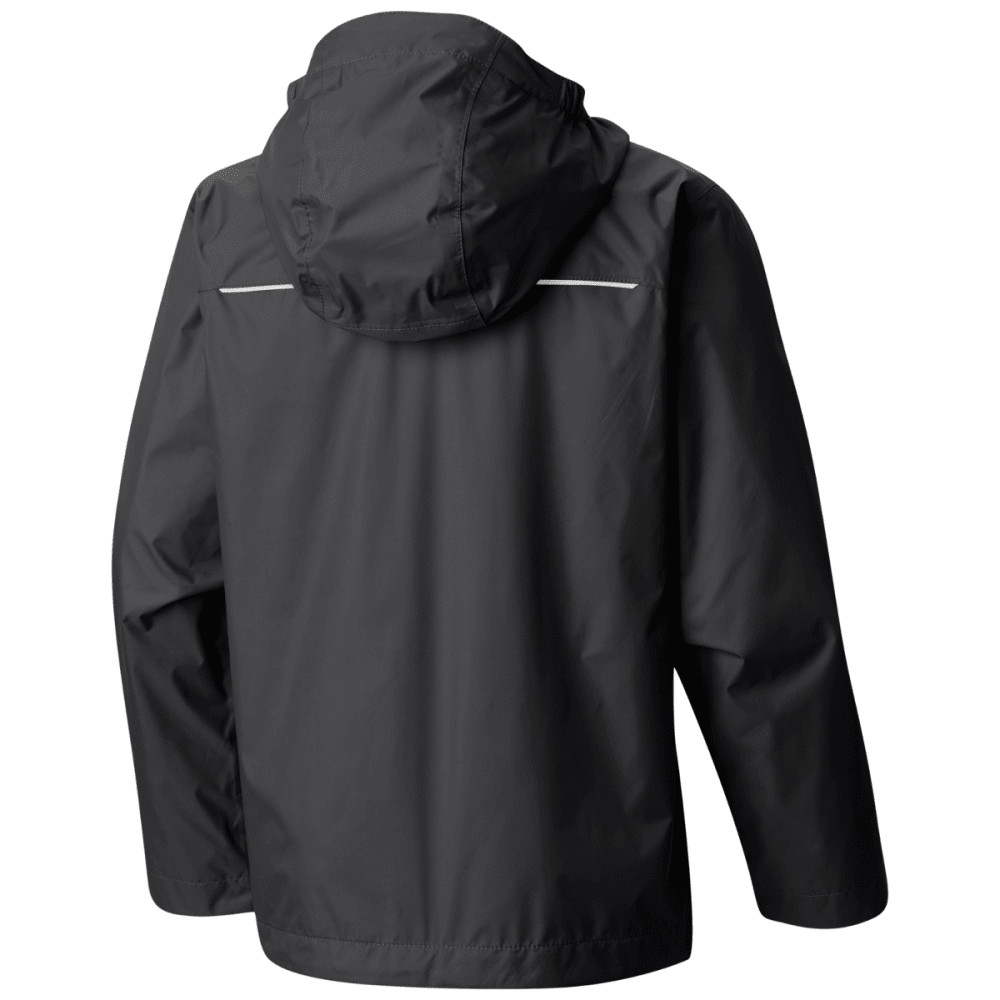 COLUMBIA Boy's Watertight Jacket - BLACK GRILL-010