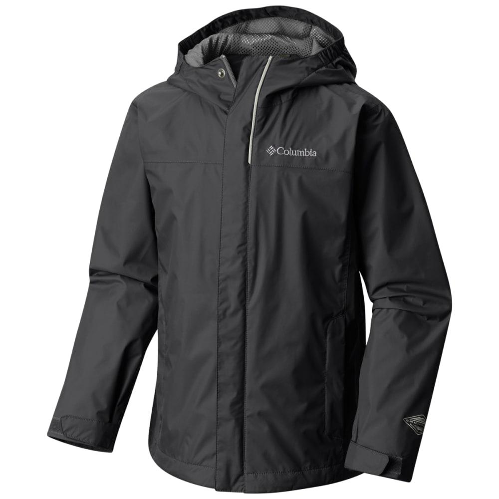 COLUMBIA Boy's Watertight Jacket - BLACK GRILL-010