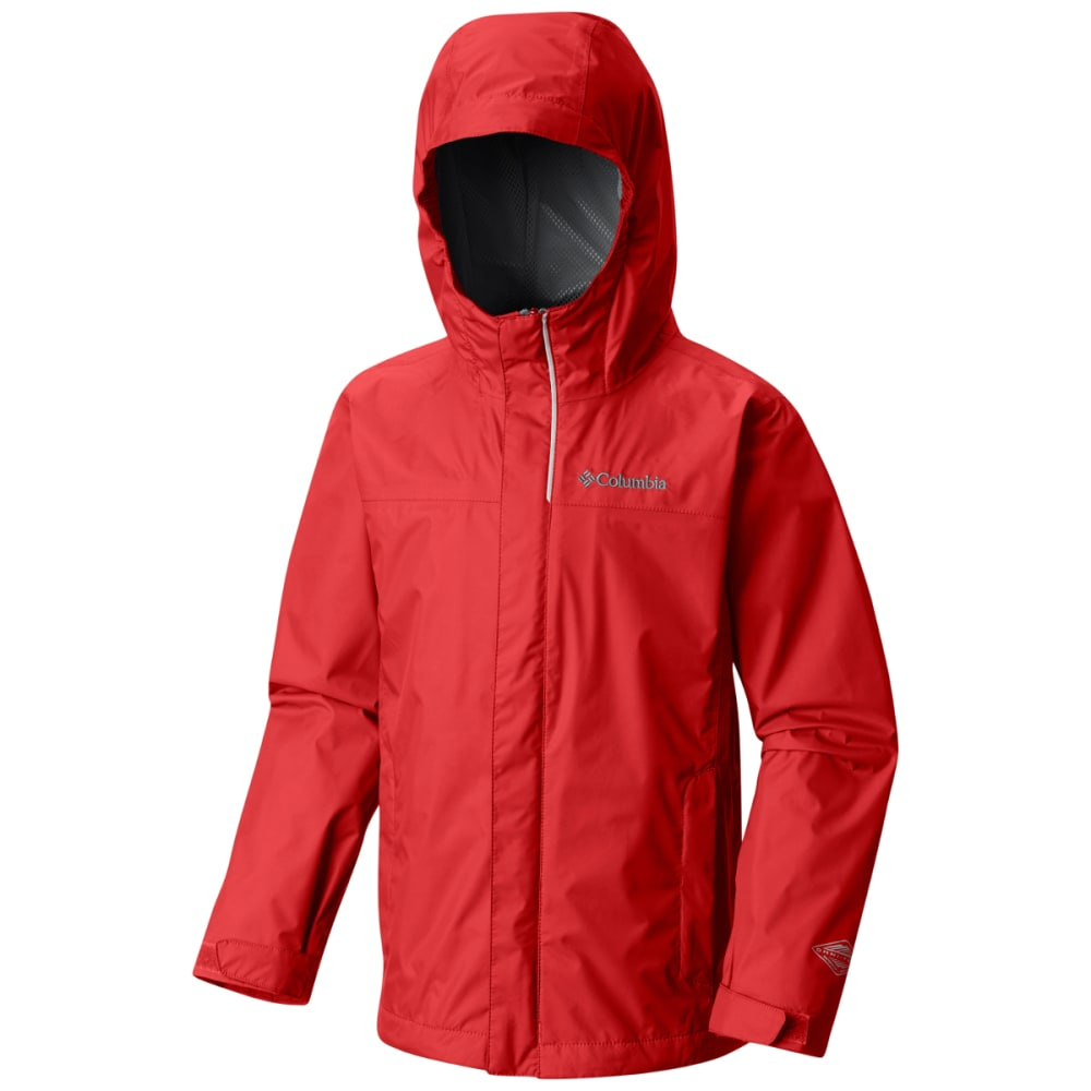 COLUMBIA Boy's Watertight™ Jacket - T BRIGHT RED-691