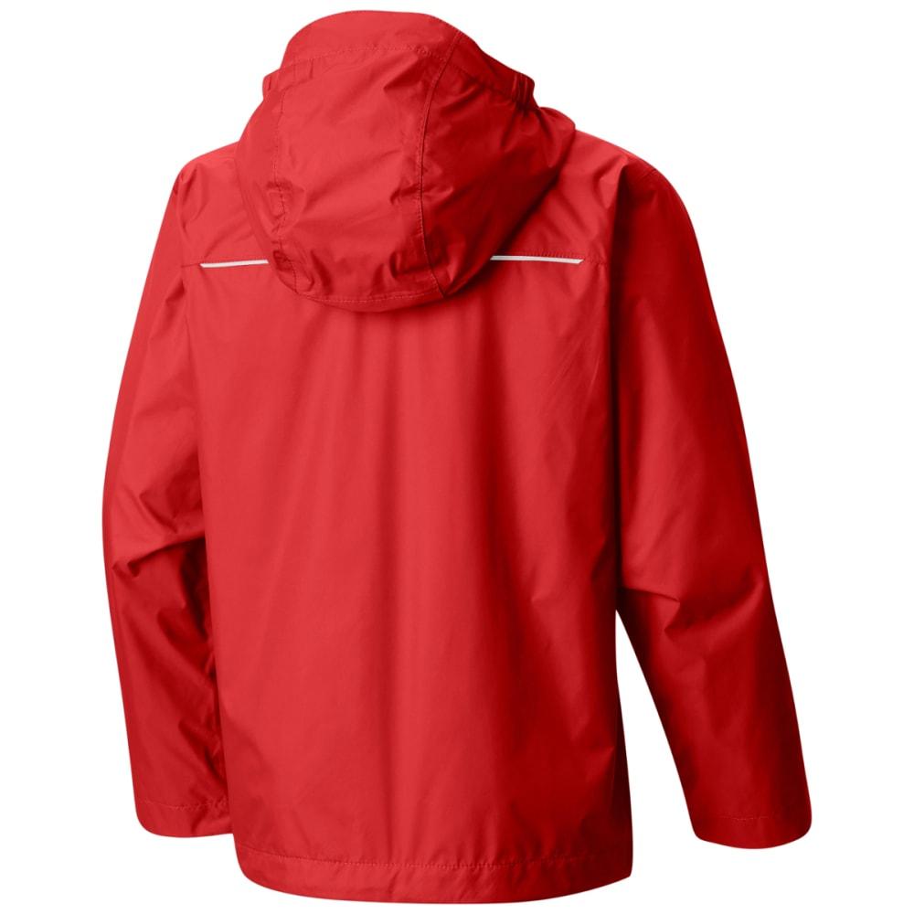 COLUMBIA Boy's Watertight Jacket - T BRIGHT RED-691