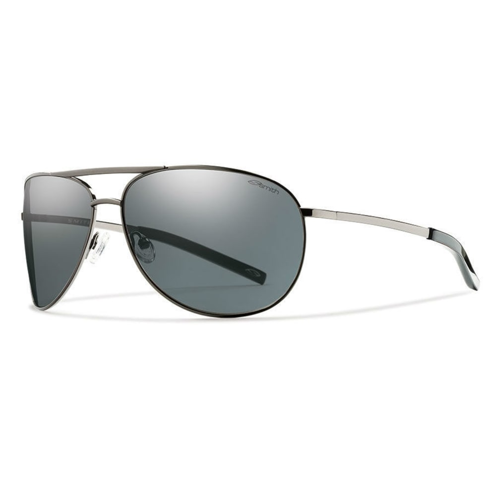 SMITH Serpico Sunglasses, Gunmetal/Grey - Gunmetal grey