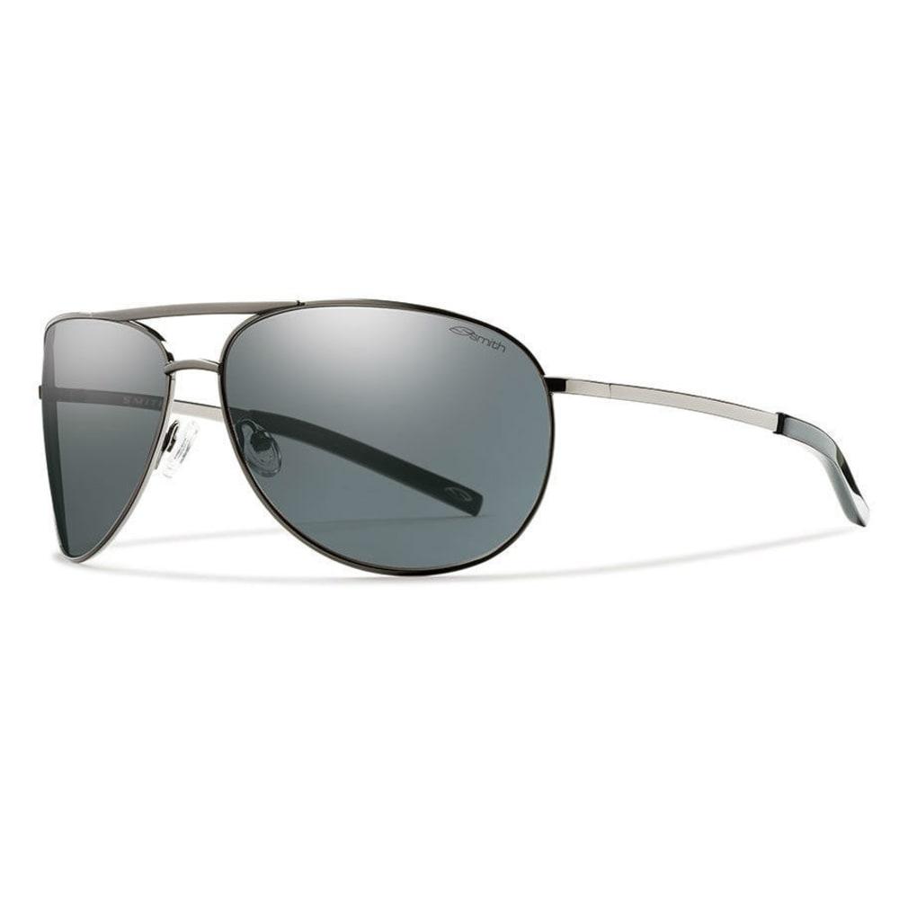SMITH Serpico Sunglasses, Gunmetal/Grey - Gunmetal grey