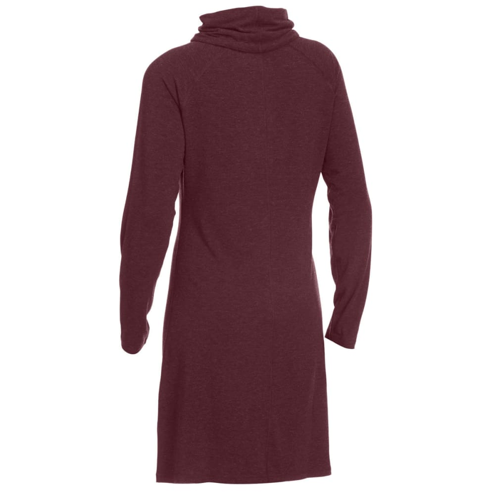 EMS® Women's Techwick® Journey Scrunch Neck Dress - WINE TASTING