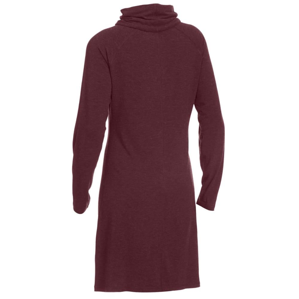 EMS® Women's Techwick® Journey Scrunch Neck Dress - WINE TASTING