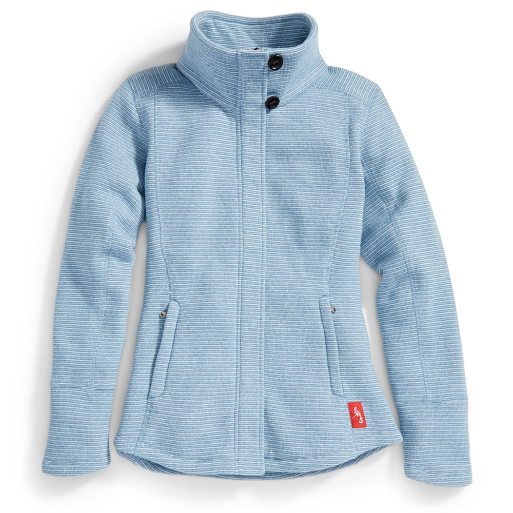 EMS® Women's Emma Full-Zip Sweater - FADED DENIM
