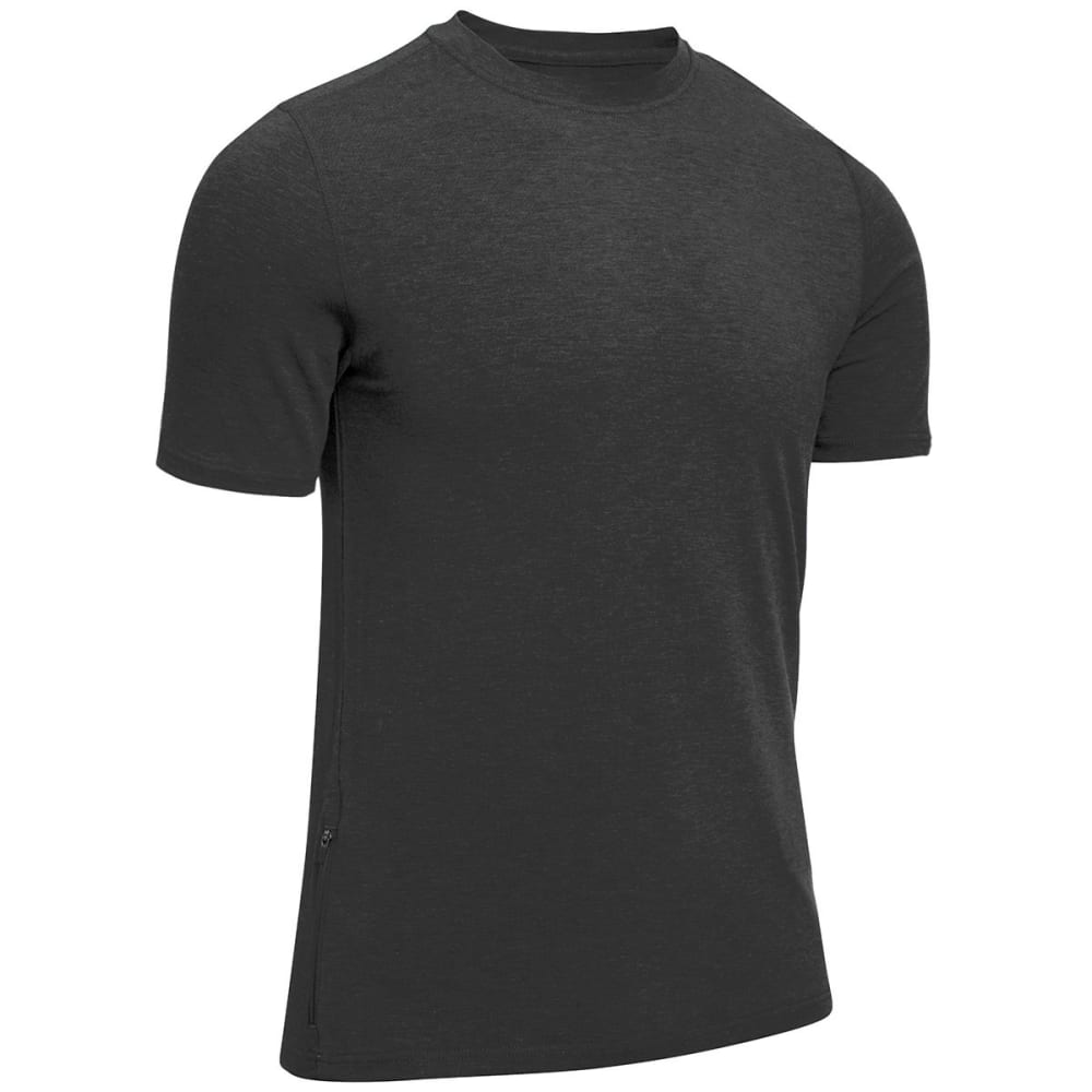 EMS® Men's Techwick® Journey Crewneck Tee - BLACK HEATHER