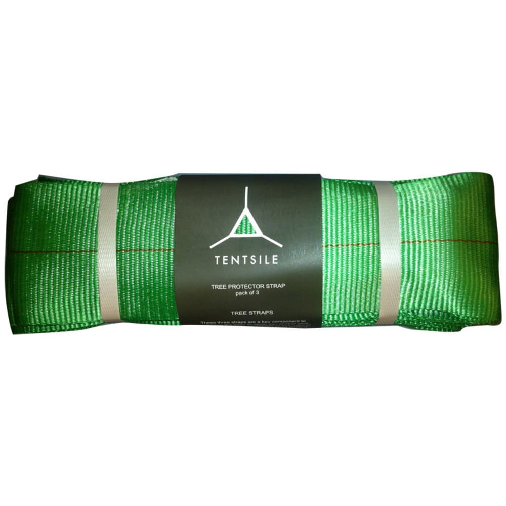TENTSILE Tree Protector Straps, 3-Pack - GREEN