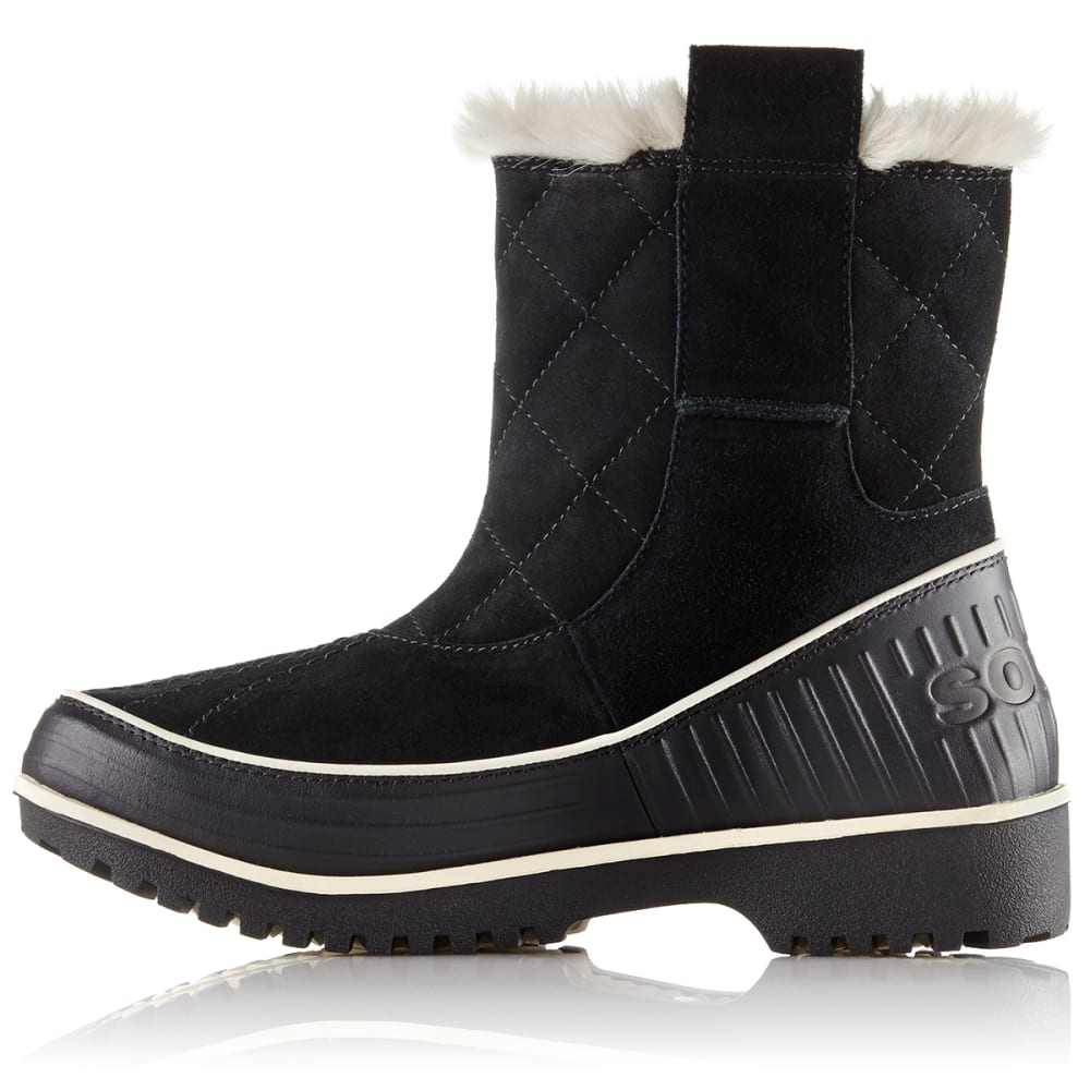 SOREL Women's Tivoli II Pull-On Boots, Black - BLACK