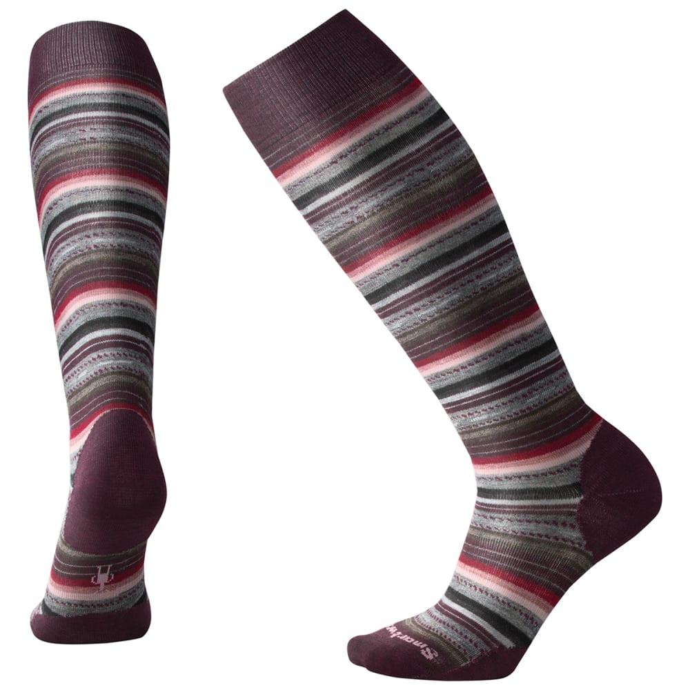 SMARTWOOL Women's Margarita Knee-High Socks - BORD HTHR - 587