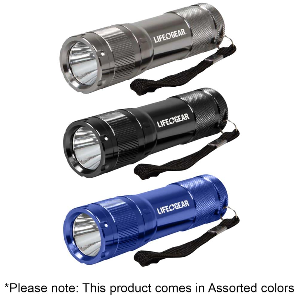 LIFE GEAR Mini Pro Tactical Flashlight, 100 Lumens - ASSORTED