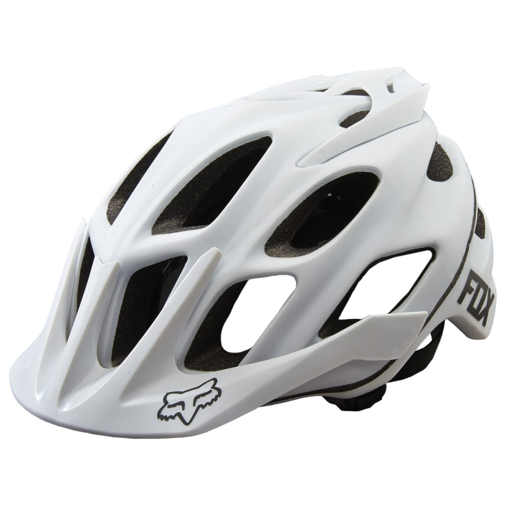 FOX Flux Matte Cycling Helmet - WHITE