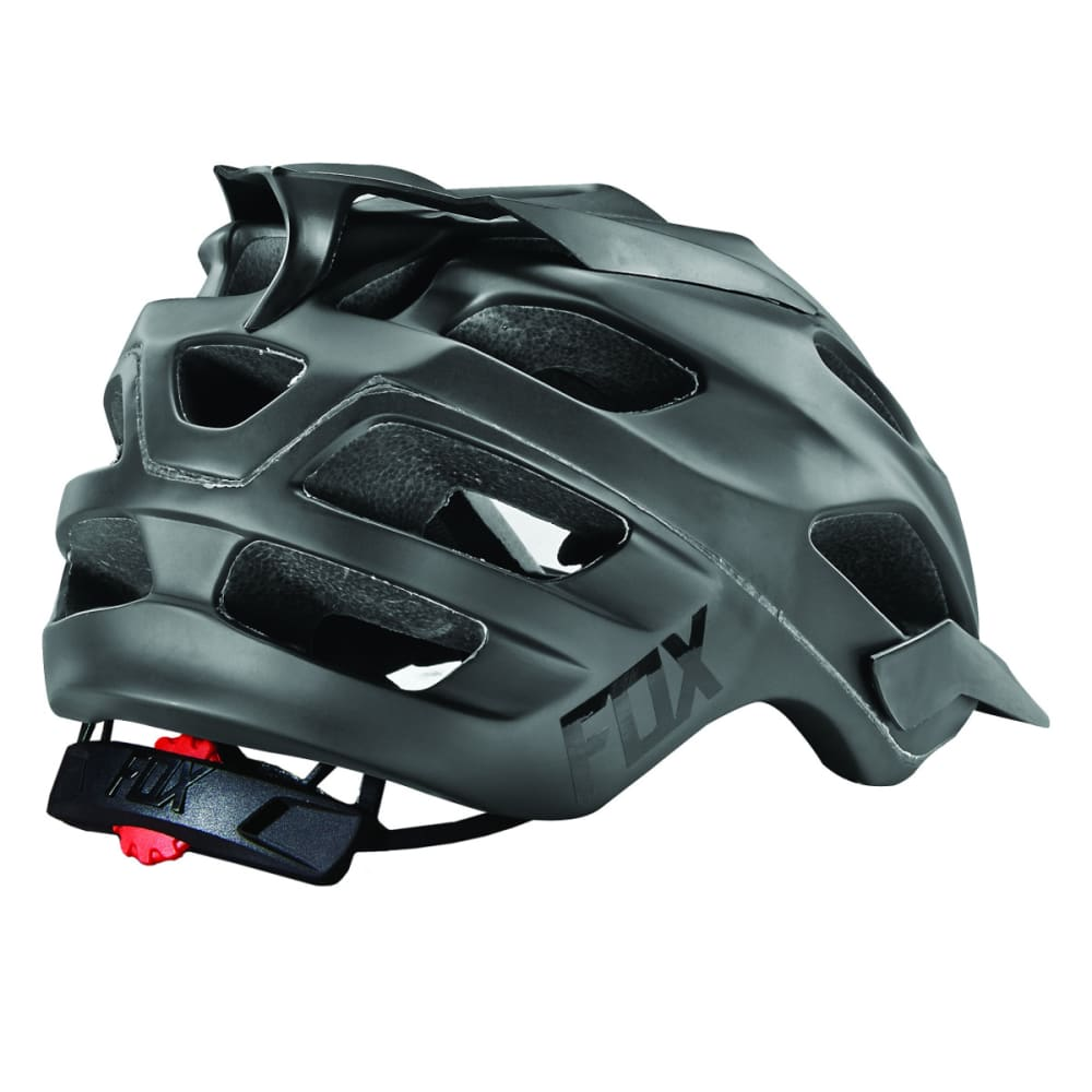 FOX Flux Matte Cycling Helmet - BLACK
