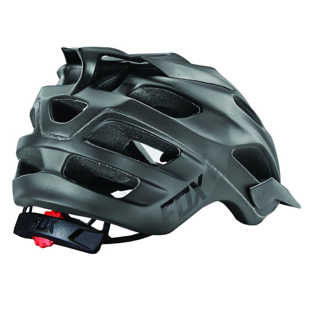 FOX Flux Matte Cycling Helmet - BLACK
