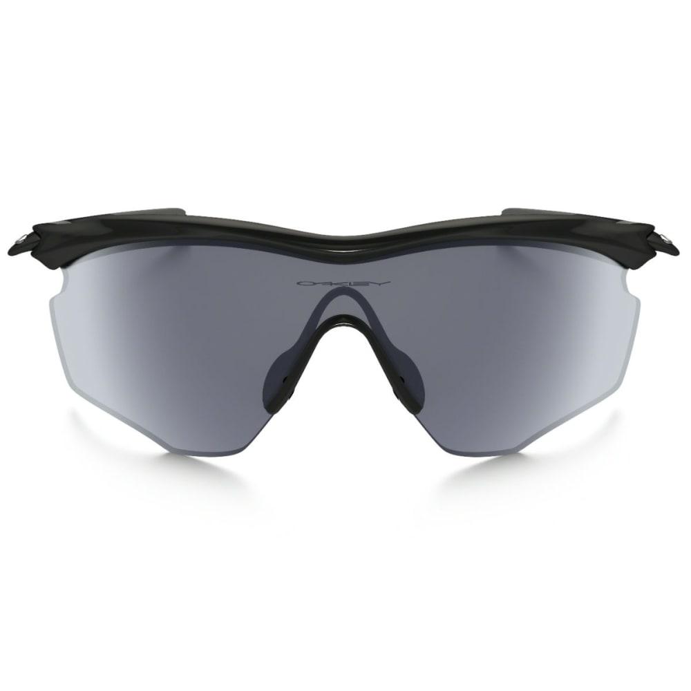 OAKLEY M2 Frame XL Sunglasses, Polished Black/Grey - BLACK