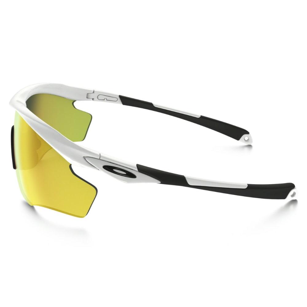 OAKLEY M2 Frame XL Sunglasses, Polished White/Fire Iridium - WHITE