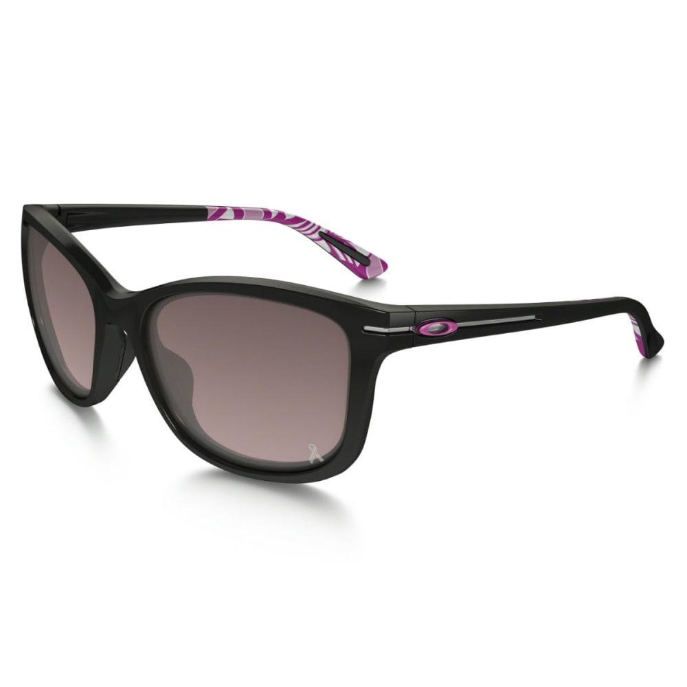 OAKLEY Women's Breast Cancer Awareness Drop In Sunglasses - BLACK