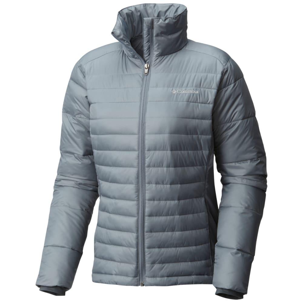 COLUMBIA Women's Powder Pillow Hybrid Jacket - 021-GREY ASH