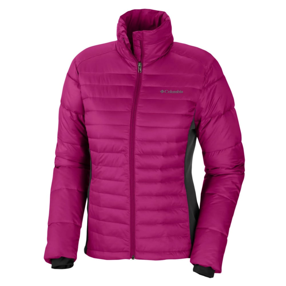 COLUMBIA Women's Powder Pillow Hybrid Jacket - 684-T DEEP BLUSH