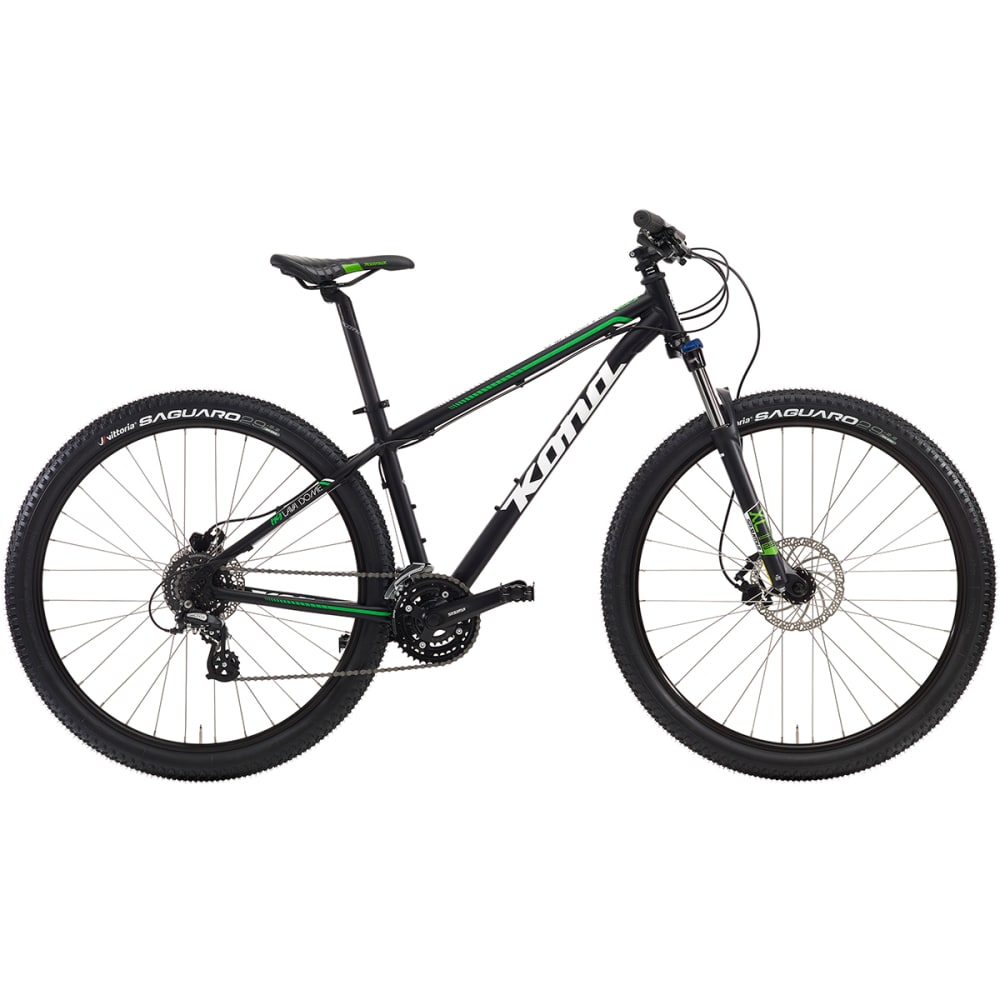 KONA Lava Dome Mountain Bike - BLACK