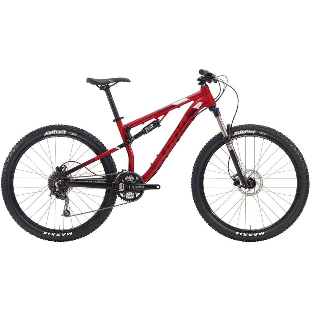 KONA Precept 120 Mountain Bike - RED