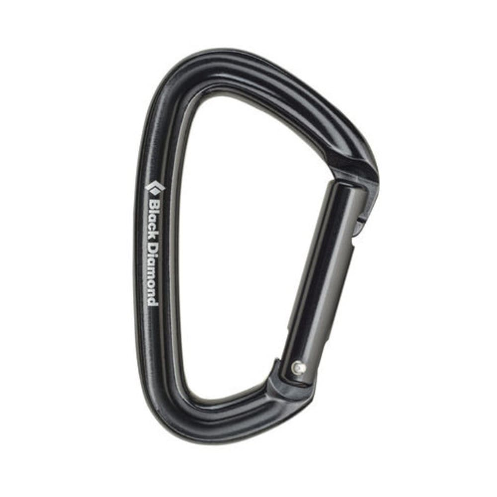 BLACK DIAMOND Positron Straight Carabiner - BLACK