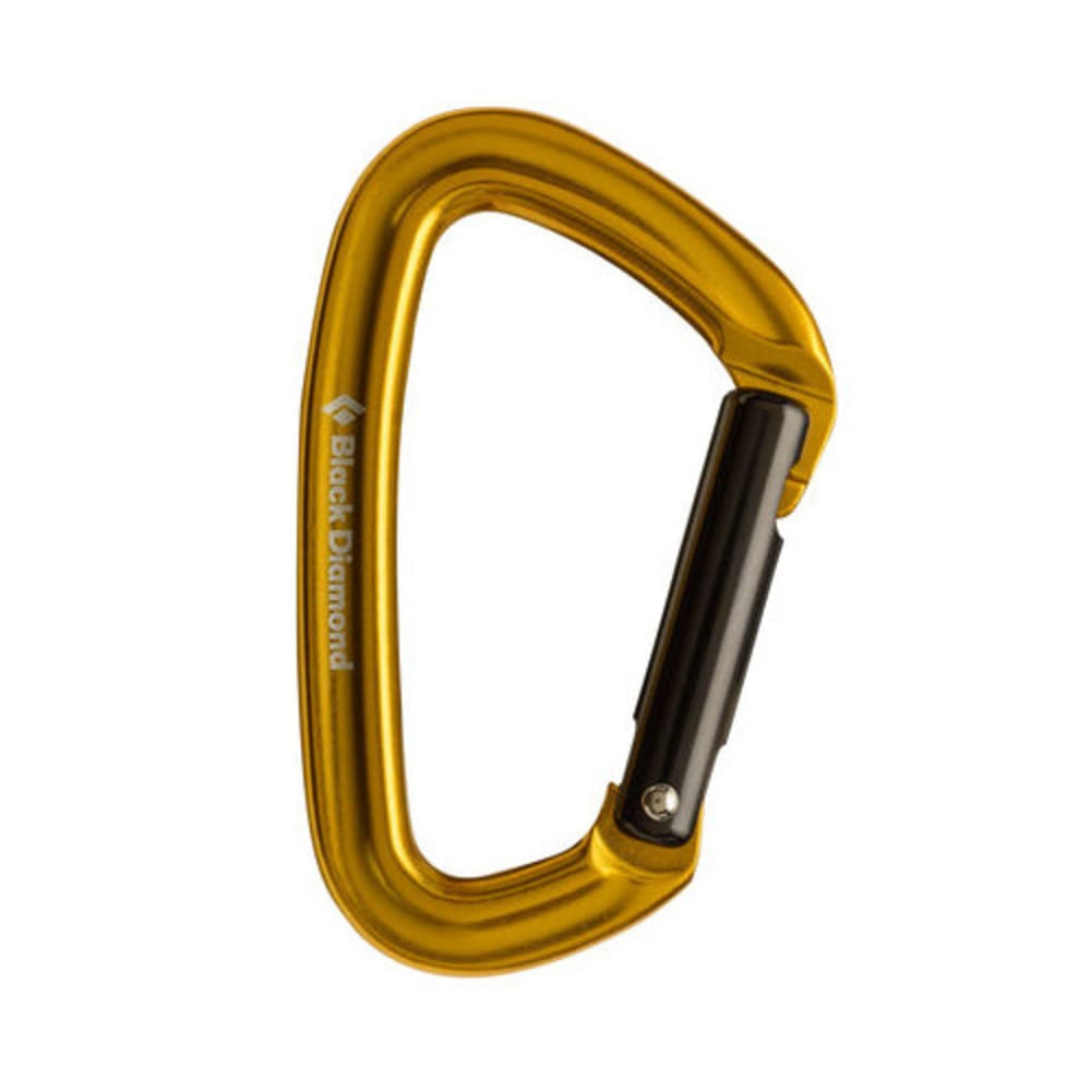 BLACK DIAMOND Positron Straight Carabiner - YELLOW