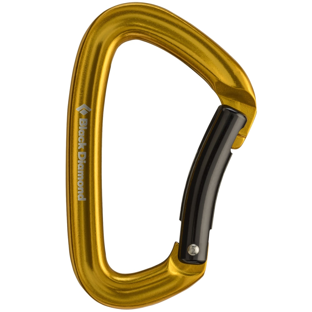 BLACK DIAMOND Positron Bent Carabiner - YELLOW