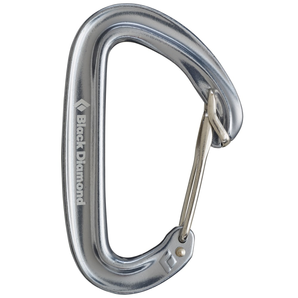 BLACK DIAMOND Oz Carabiner - SILVER