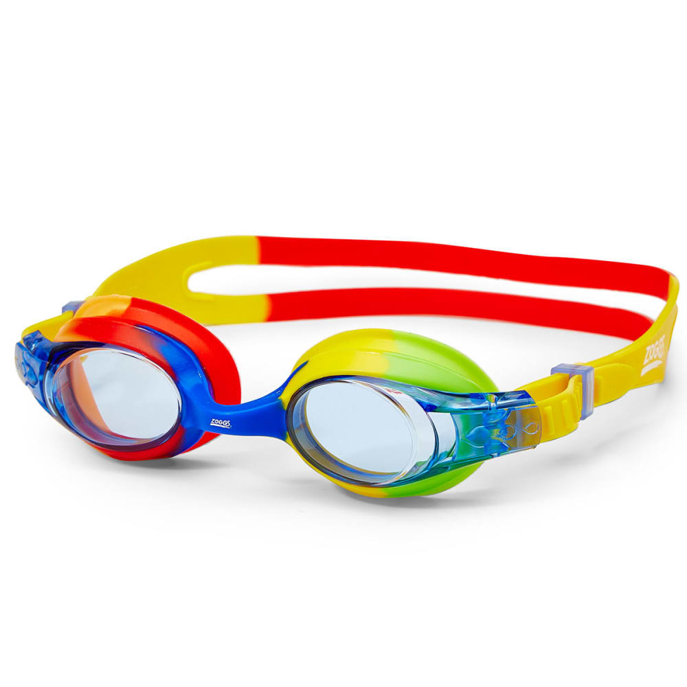 ZOGGS Kids' Splash Swim Goggles - RED-YELLOW/BLUE