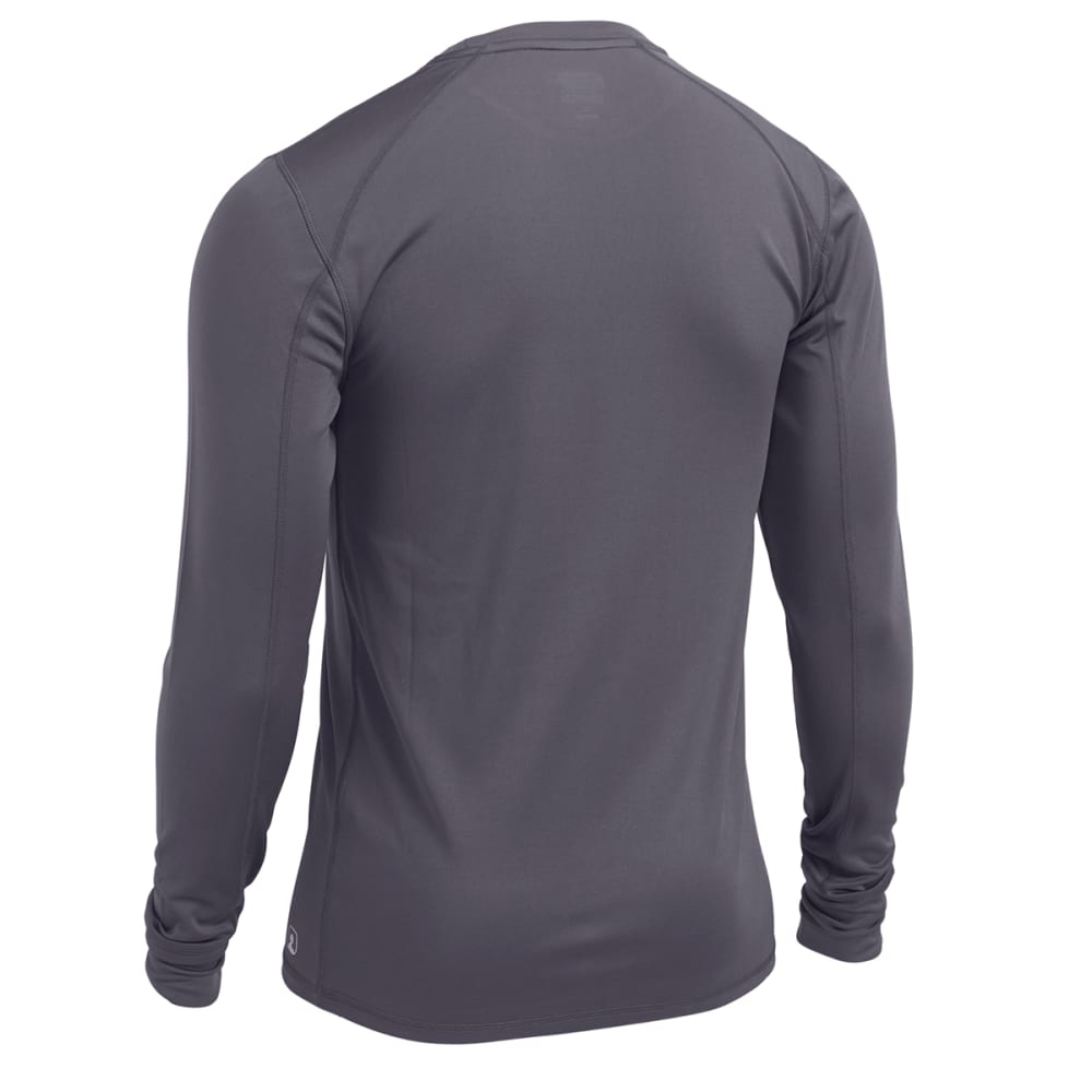 EMS® Men's Techwick® Lightweight Long-Sleeve Crew Baselayer - PEWTER
