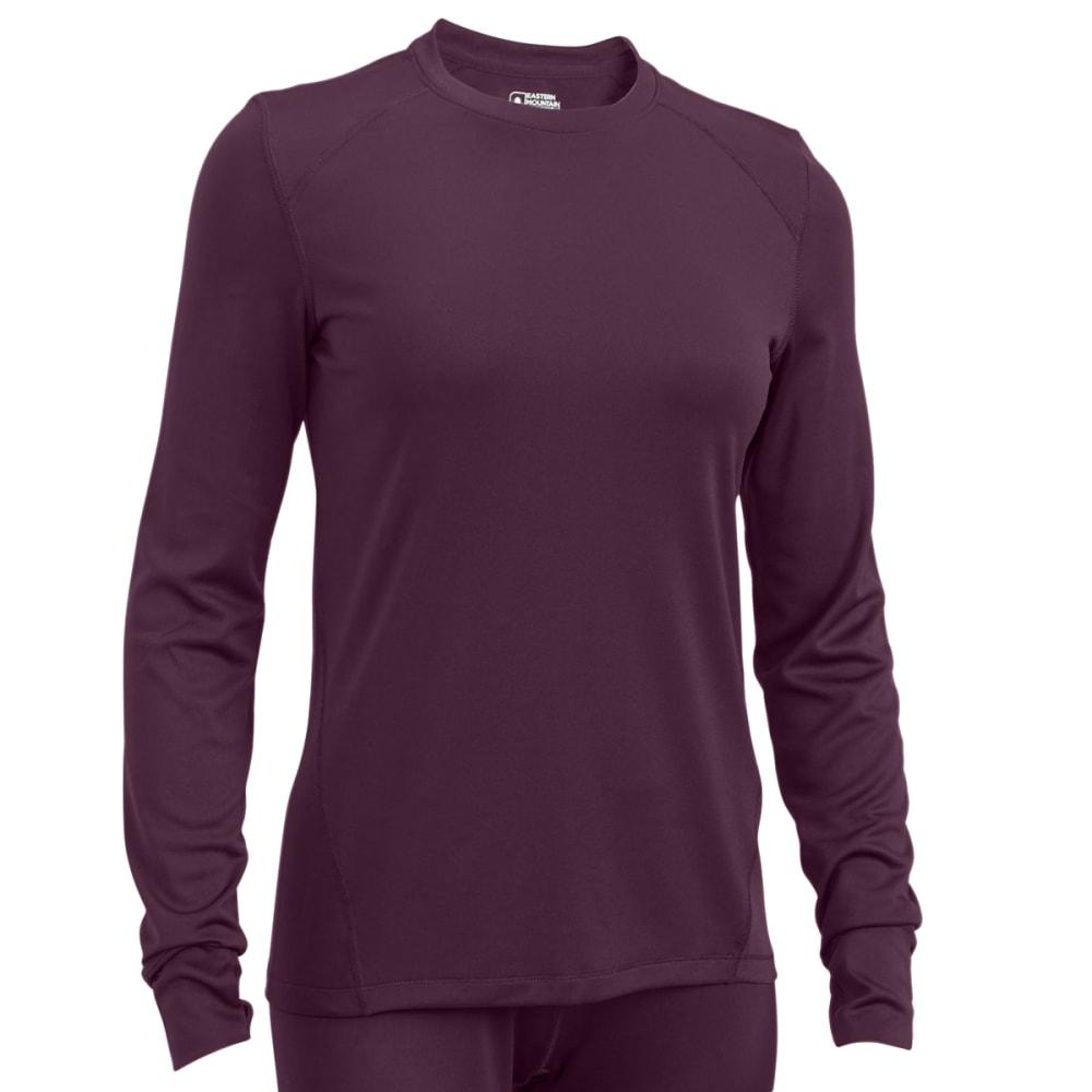 EMS® Women's Techwick® Solid Lightweight Long-Sleeve Crew Baselayer - PLUM PERFECT