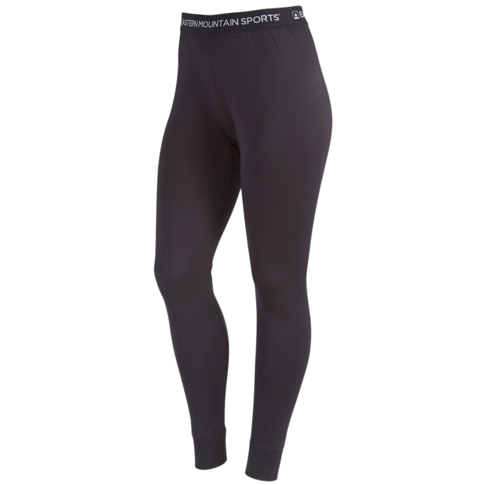 EMS® Women's Techwick® Solid Lightweight Baselayer Tights - BLACK