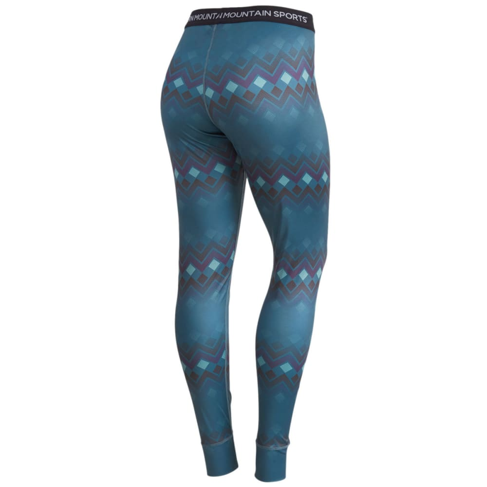 EMS® Women's Techwick® Printed Lightweight Baselayer Tights - BALSAM