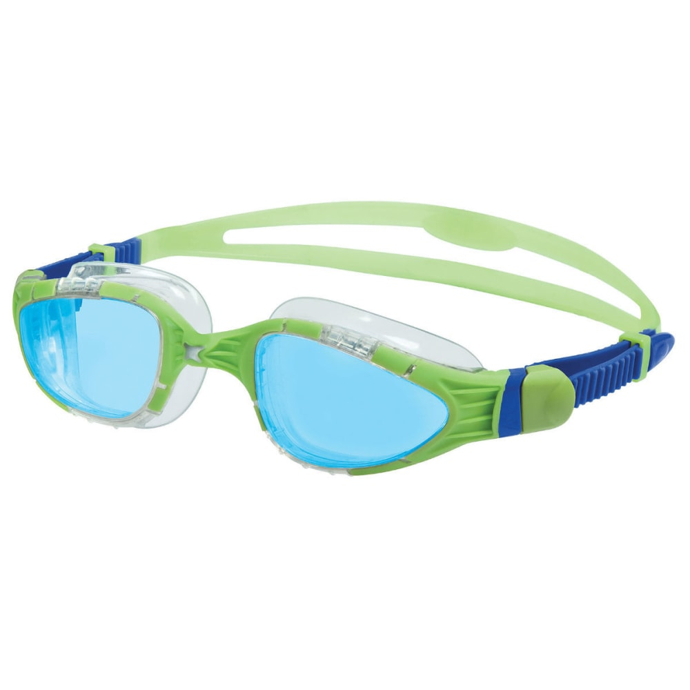 ZOGGS Aqua Flex Swim Goggles - GRN/BLU/BLUE 344