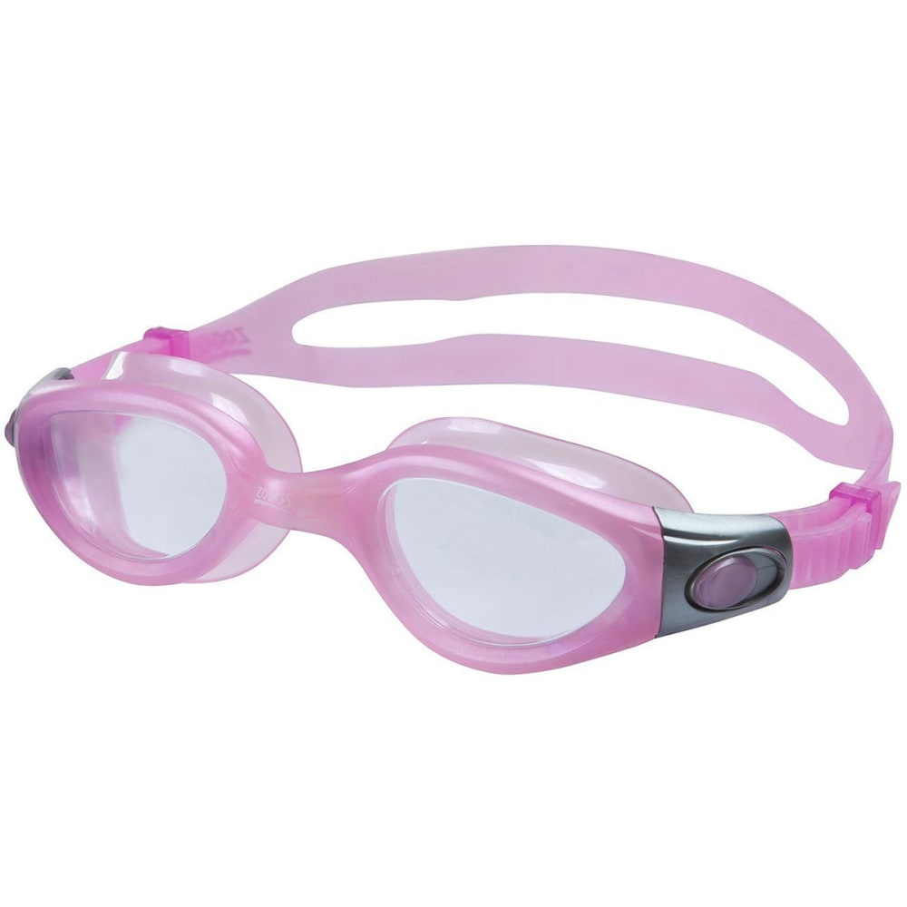 ZOGGS Phantom Elite Swim Goggles - PINK/CLEAR