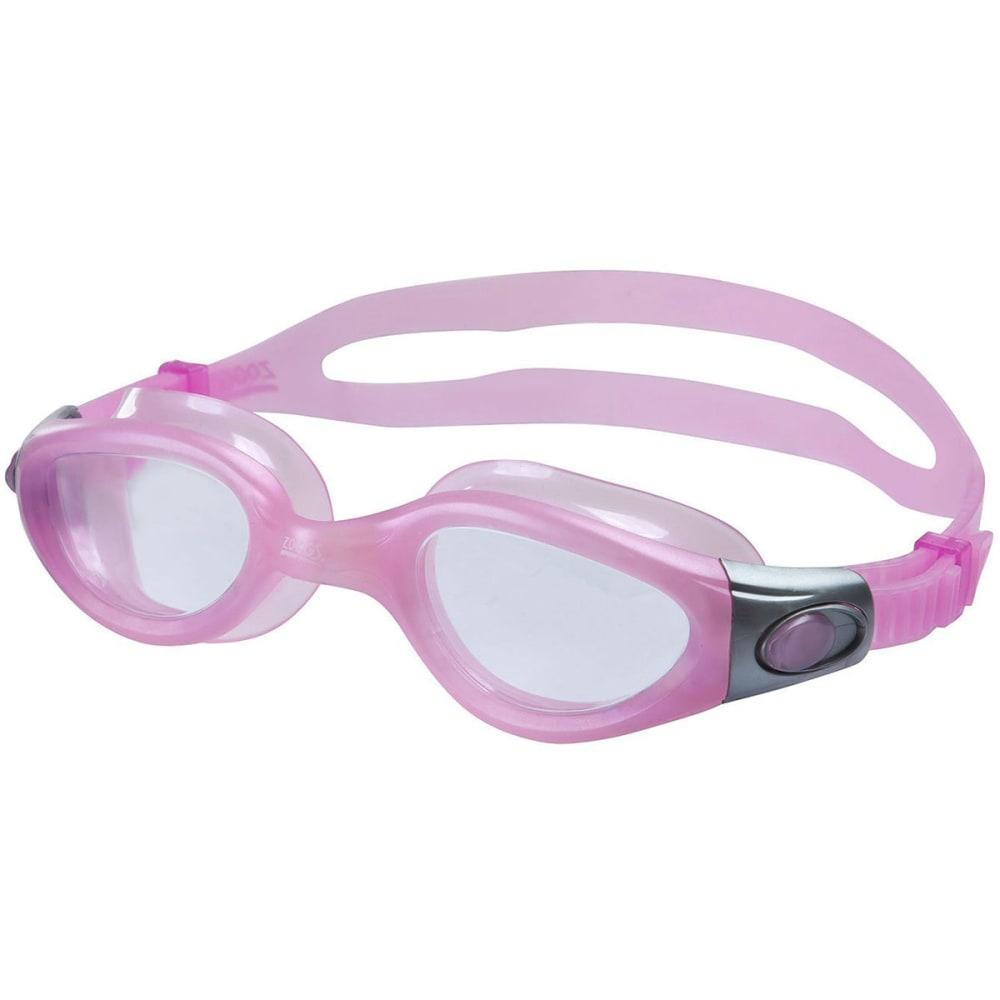 ZOGGS Phantom Elite Swim Goggles - PINK/CLEAR