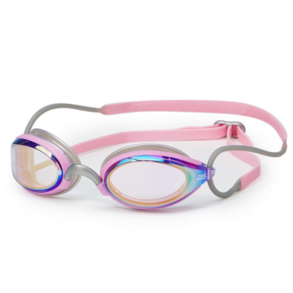 ZOGGS Women's Podium Mirror Swim Goggles - SILVER/PINK 865