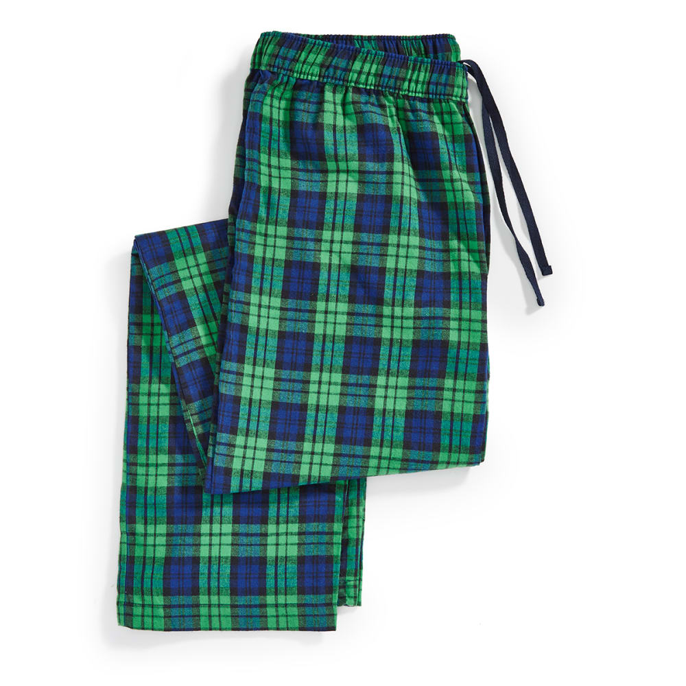 EMS® Holiday Flannel Pajama Pants - MEDIUM GREEN