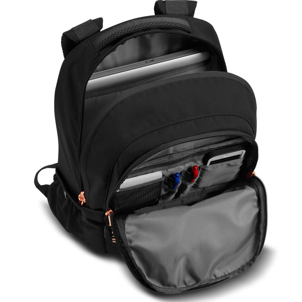 THE NORTH FACE Women's Jester Daypack - TNF BLACK HTHR/CORAL