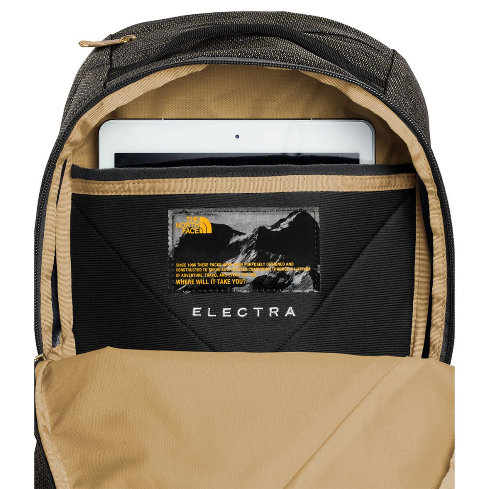 THE NORTH FACE Women's Electra Backpack - TNF BLK BRASS ML-7DS