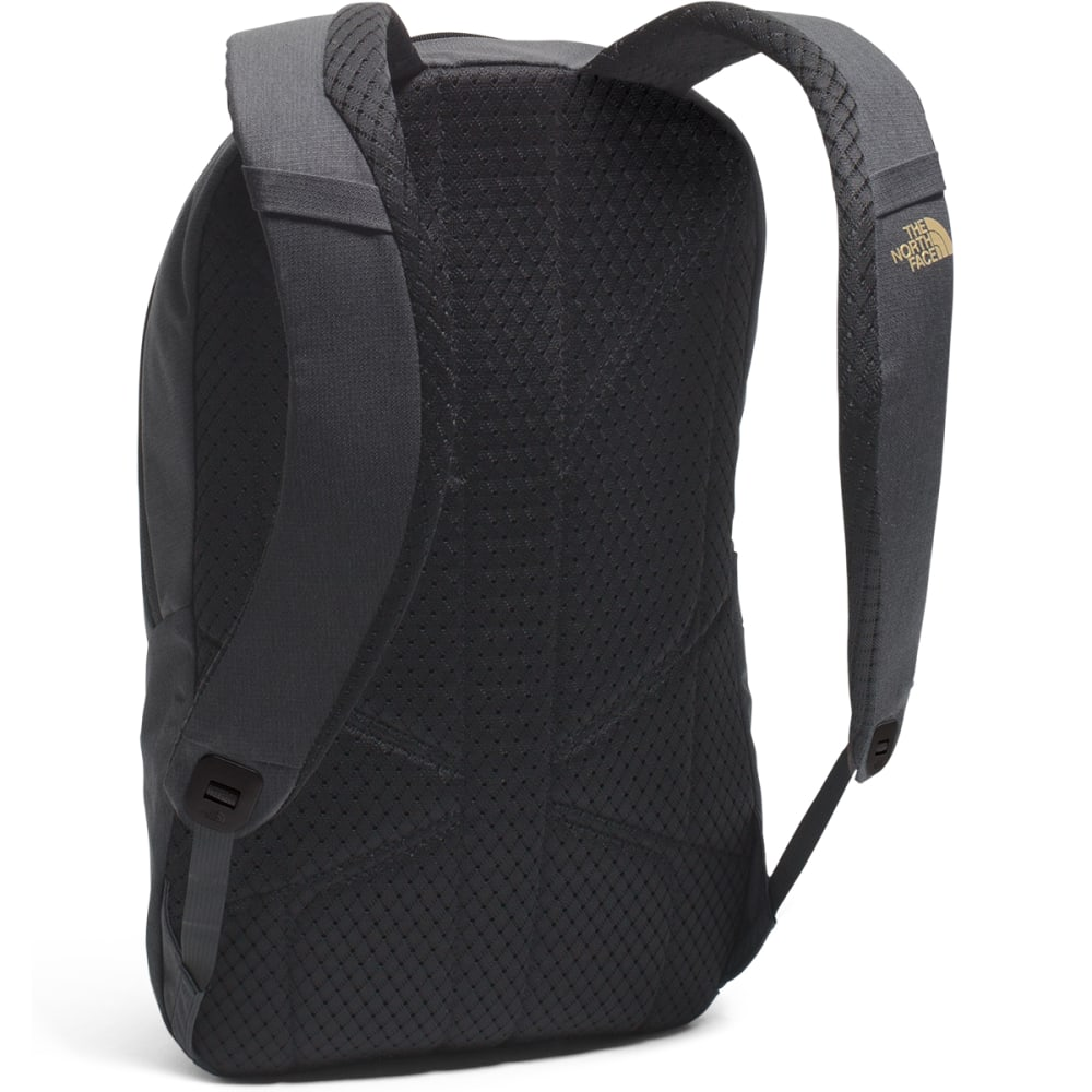 THE NORTH FACE Women's Electra Backpack  - TNF BLK HTR/GOLD-LYW