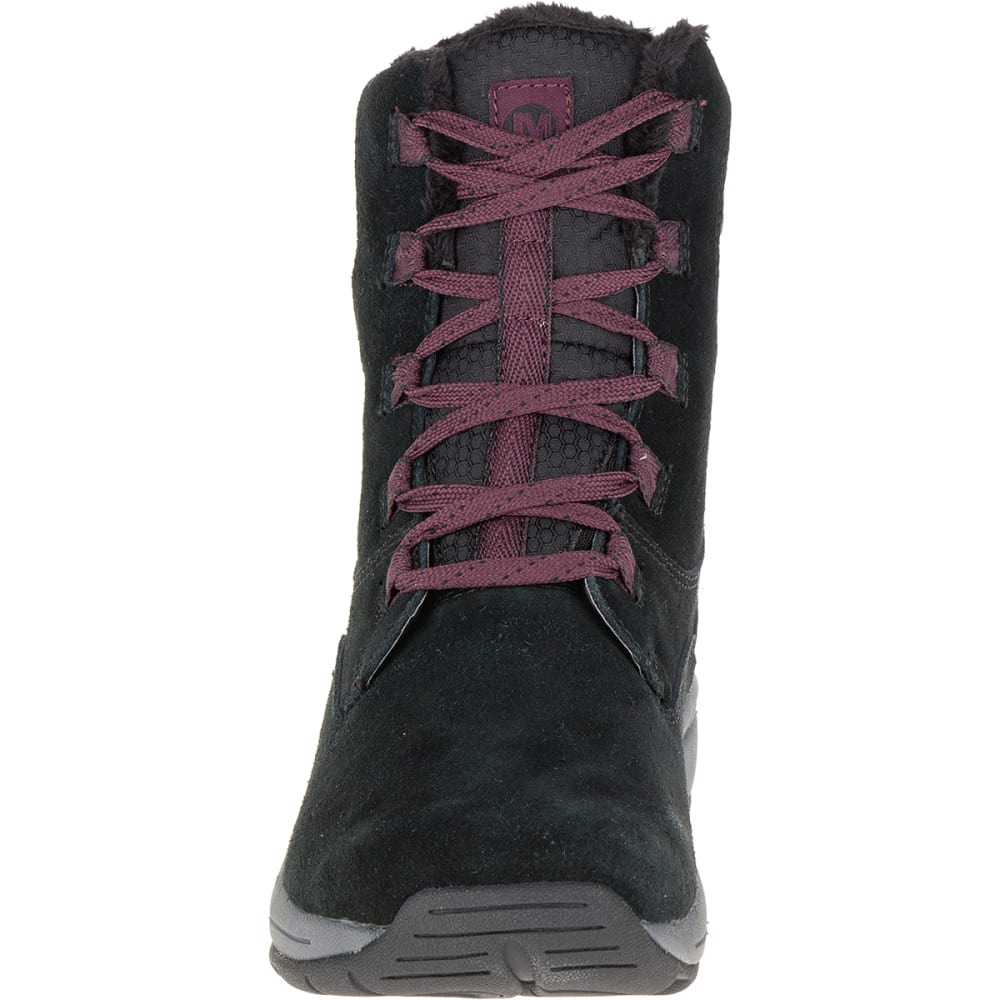 MERRELL Women's Jovilee Artica Waterproof Boots, Black - BLACK/HUCKLEBERRY